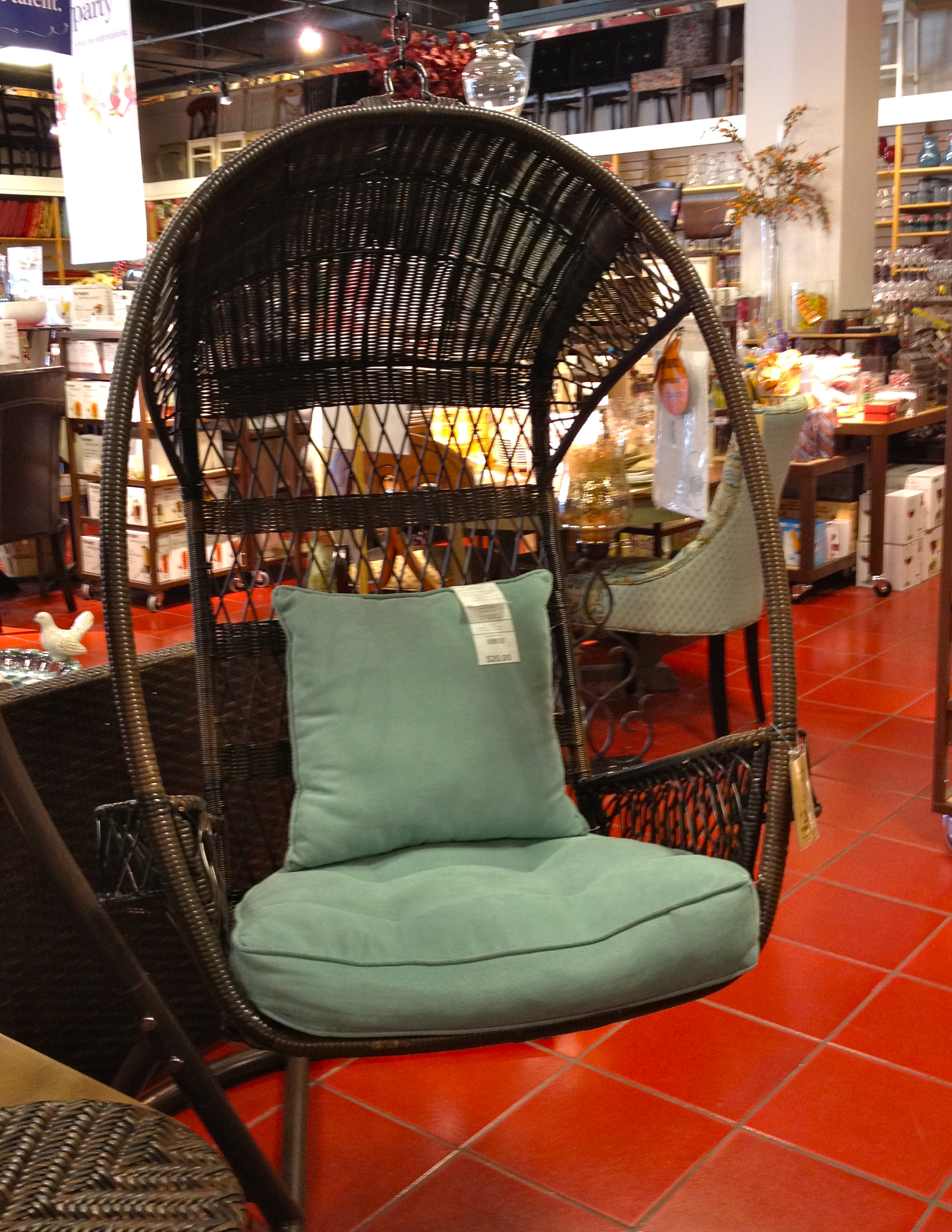 Fabulous finds left behind susy home maker - Pier one lounge chairs ...